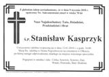 Kasprzyk Stanisław