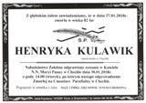 Kulawik Henryka