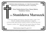 Maroszek Stanisława