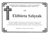 Szlęzak Elżbieta