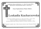 Kucharzewska Leokadia