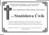 Ćwik Stanisława