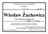 Żuchowicz Wiesław
