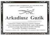 Guzik Arkadiusz