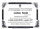 Kurek Lesław