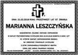 Leszczyńska Marianna