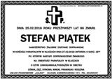 Piątek Stefan