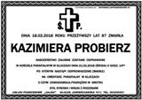 Probierz Kazimiera