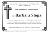 Stopa Barbara