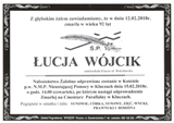 Wójcik Łucja