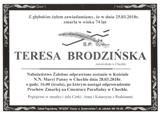 Brodzińska Teresa