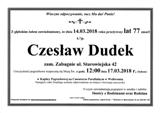 Dudek Czesław