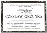 Grzunka Czesław