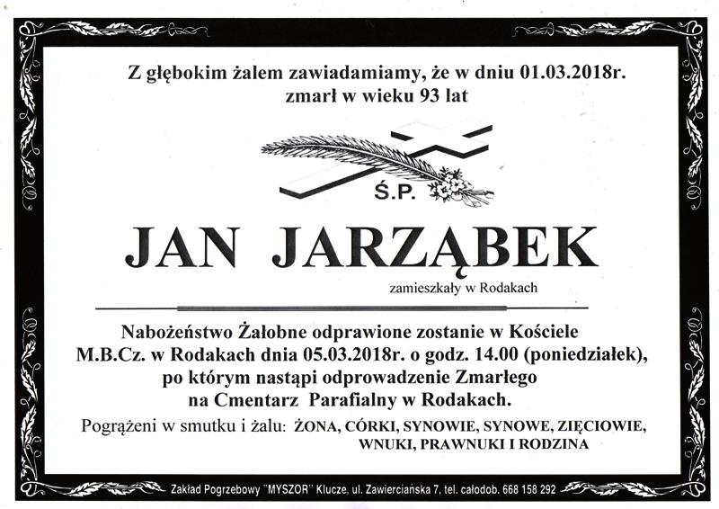Jarząbek Jan