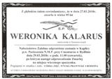 Kalarus Weronika