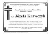 Krawczyk Józefa