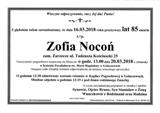 Nocoń Zofia
