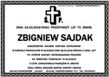 Sajdak Zbigniew