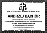 Bąchór Andrzej
