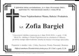 Bargieł Zofia