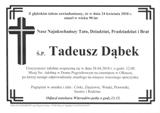 Dąbek Tadeusz