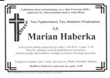 Haberka Marian