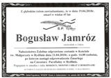 Jamróz Bogusław