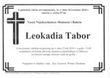Tabor Leokadia