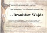Wajda Bronisław