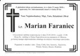 Faraniec Marian