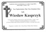 Kasprzyk Wiesław