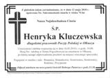 Kluczewska Henryka