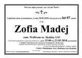 Madej Zofia