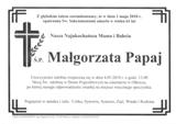 Papaj Małgorzata
