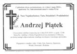 Piątek Andrzej
