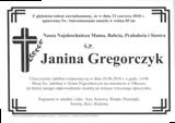 Gregorczyk Janina