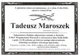 Maroszek Tadeusz
