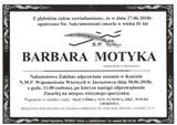 Motyka Barbara