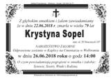 Sopel Krystyna