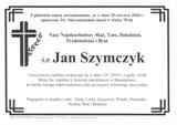 Szymczyk Jan