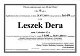 Dera Leszek