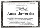 Jaworska Anna