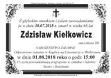 Kiełkowicz Zdzisław