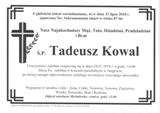 Kowal Tadeusz