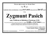 Pasich Zygmunt
