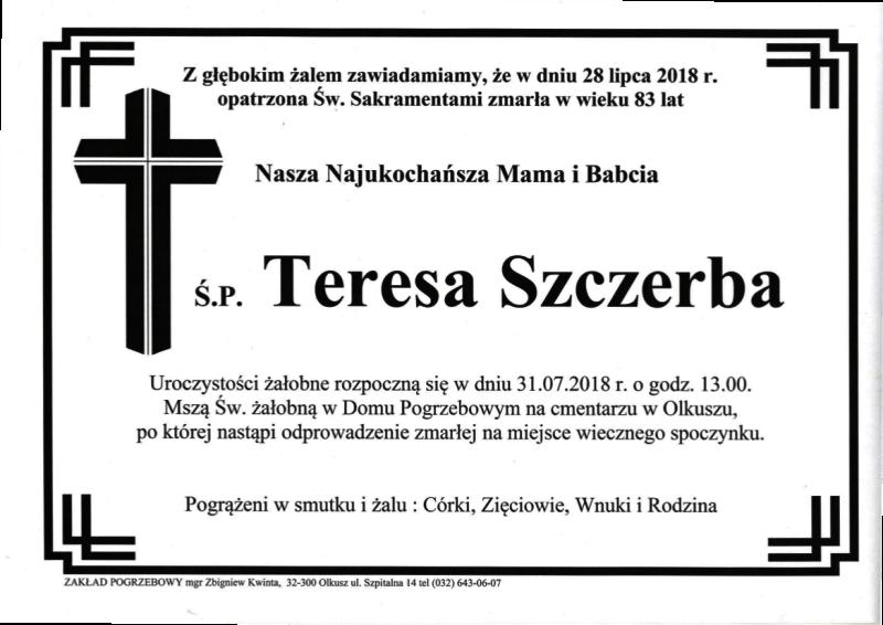 Szczerba Teresa