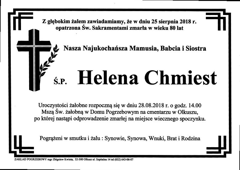Chmiest Helena