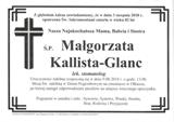Glanc Małgorzata