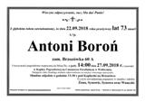 Boroń Antoni