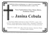 Cebula Janina